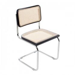 Svart Bauhausstol utan karm rotting