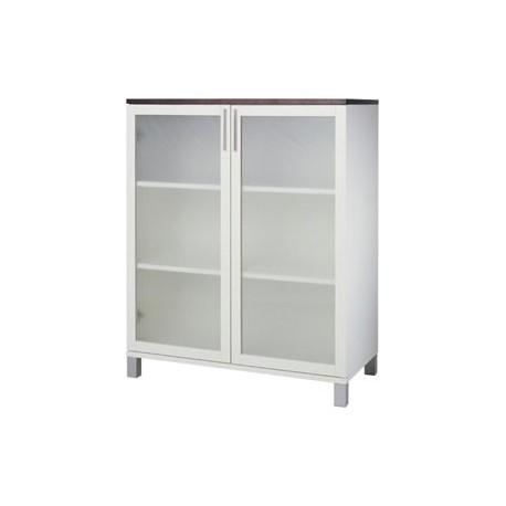 Azzaro- cabinet- sanded glass 80x40x99